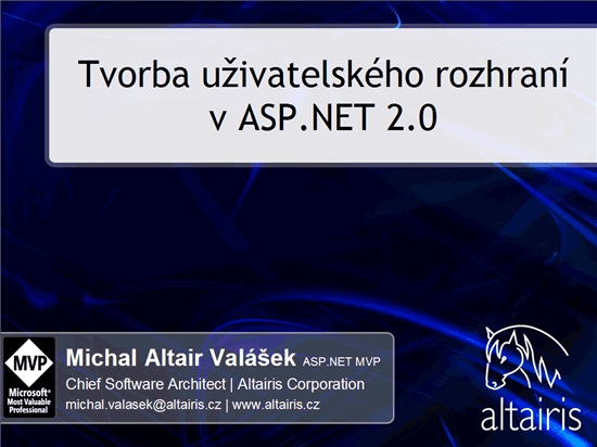 Tvorba UI v ASP.NET 2.0