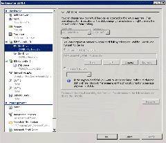 Nastavení virtuálního serveru