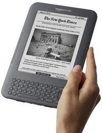Kindle Keyboard with WiFi - model, který mám
