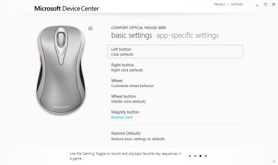 Microsoft Device Center - kříženec Metro a desktopu